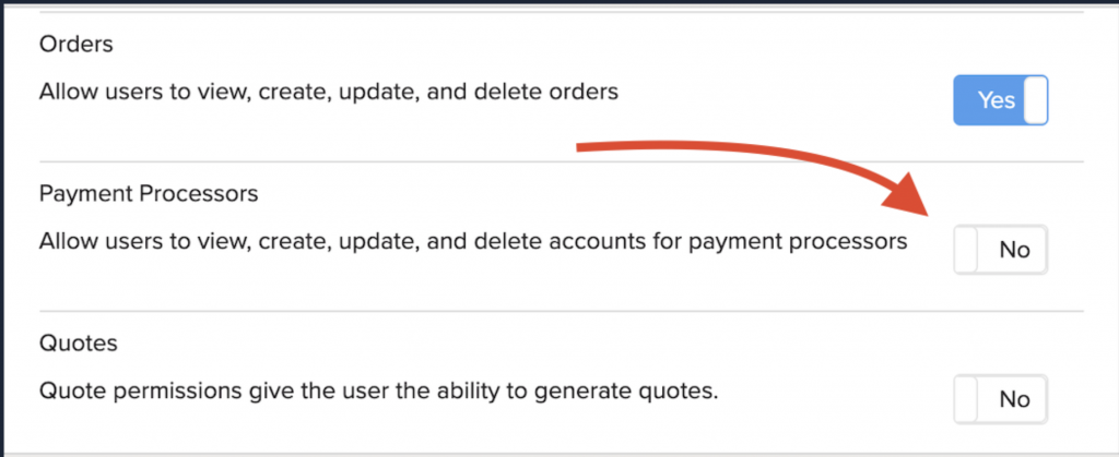 Shows what button to press for payment processors.
