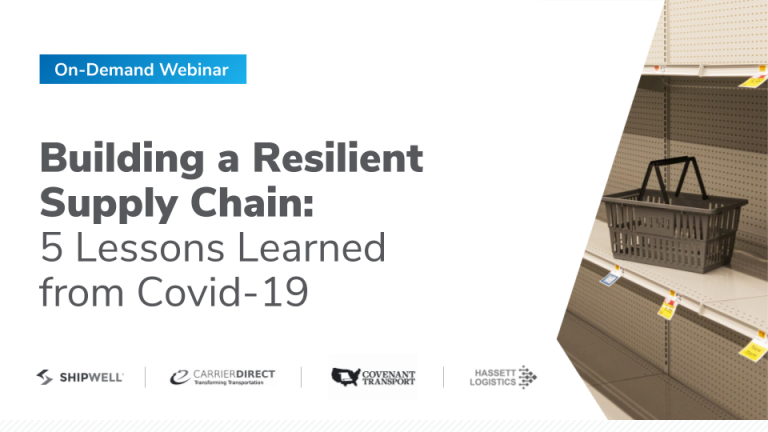 Title Slide: Building a Resilient Supply Chain